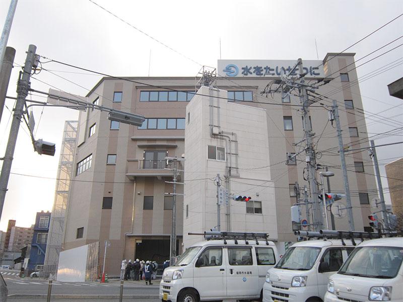 博多駅北ポンプ場・水道局庁舎建築工事